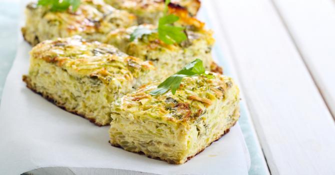 Read more about the article Tarte sans pâte poireaux tofu