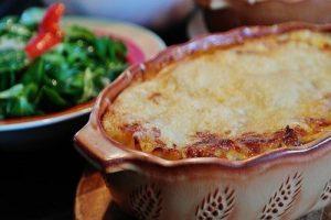 Lasagne de thon et roquette
