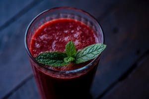 Smoothie Fraise Menthe