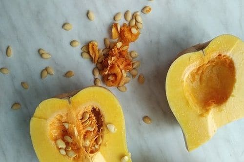 Courge butternut au gingembre et citron vert