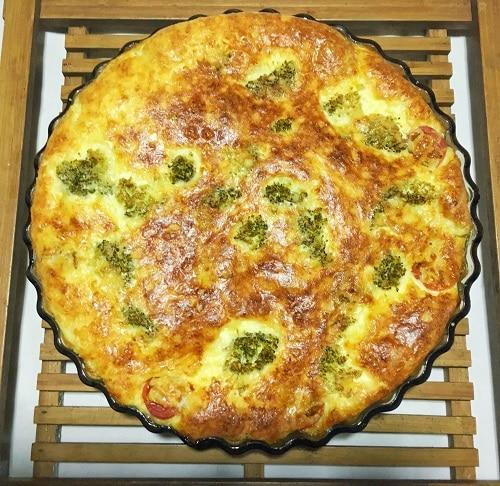 Read more about the article Comme une quiche brocolis et mozza