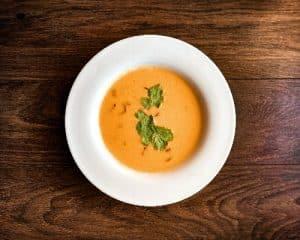 Read more about the article Soupe de lentilles corail au coco