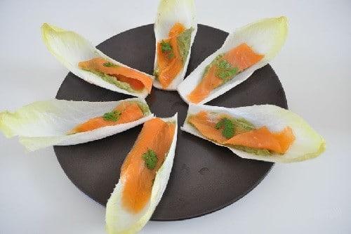 Endives au saumon