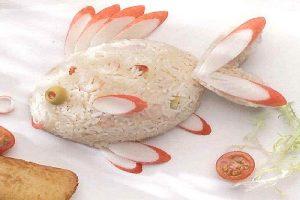 Read more about the article Poisson de riz au surimi