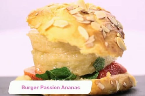 Burger passion ananas