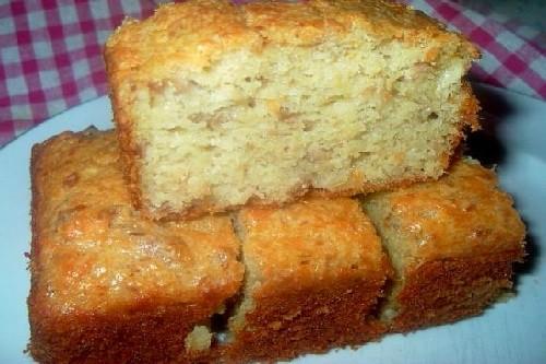 Le cake au thon léger de Bernard