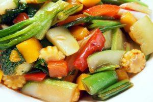 Légumes à la thaïlandaise
