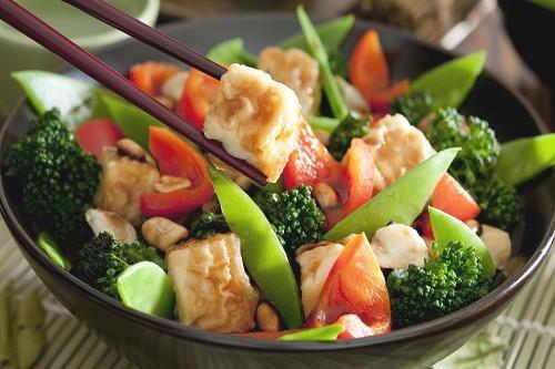Légumes sautés au Tofu