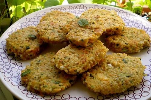 Read more about the article Galettes de céréales aux légumes
