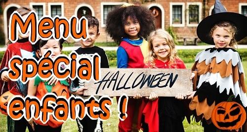 Halloween : Menu spécial enfants