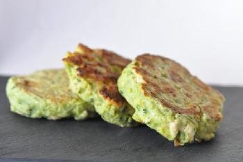 Galettes végétales brocolis flocons d'avoine